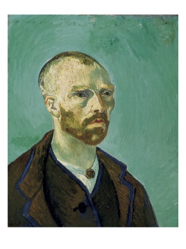 Self-Portrait Dedicated to Paul Gauguin by Vincent van Gogh. Giclee print from Art.com.