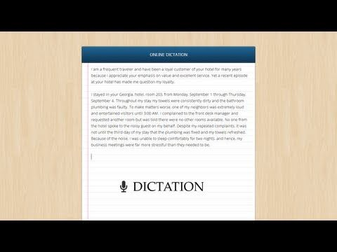 Use Google Chrome as a Free Voice Recognition Software with Dictation