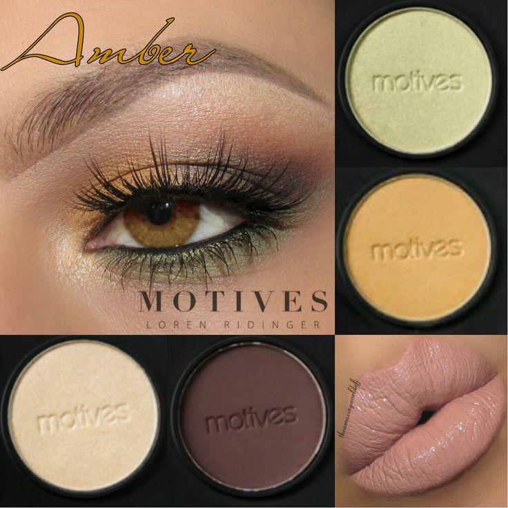 Get this look:  Amber eyes