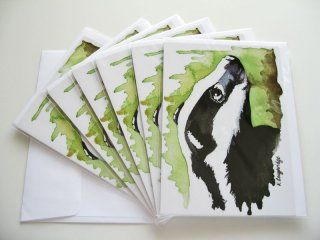 © KLArt.co.uk - Brock Badger Cards