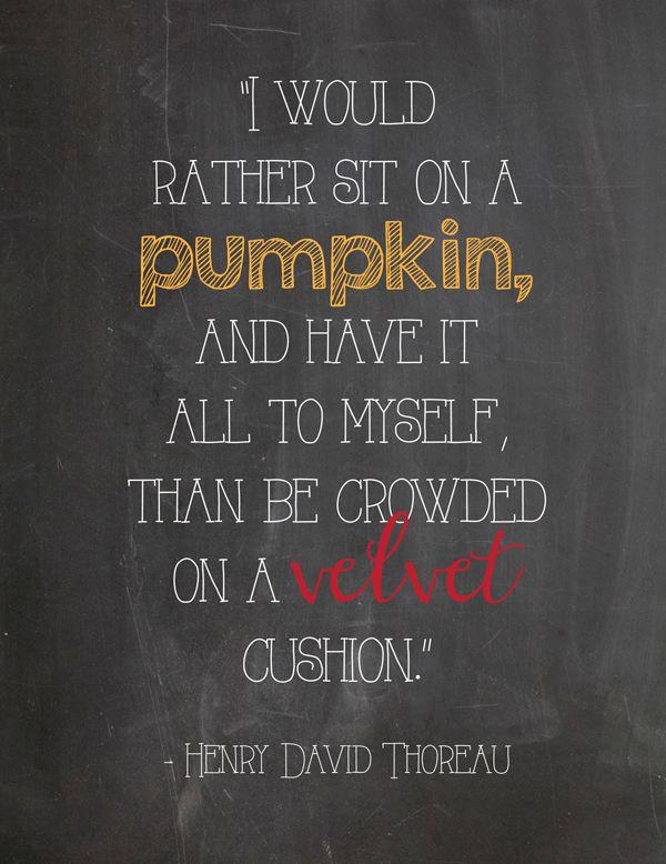 Free Printable: I'd Rather Sit On A Pumpkin