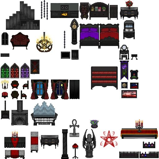 Gothic Tile B For Rpg Maker Vx Ace By