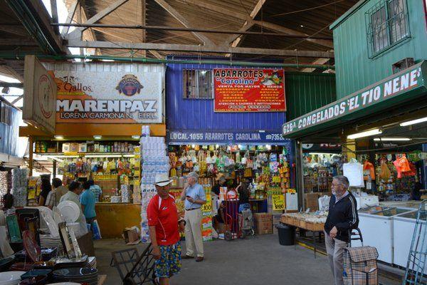 La Vega Central, Santiago