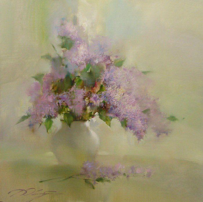 Denis Oktyabr 1977   Russian impressionist   Tutt'Art@