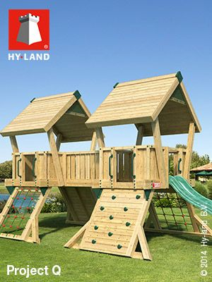 Commercial Climbing Frames - Hy-land Project Q