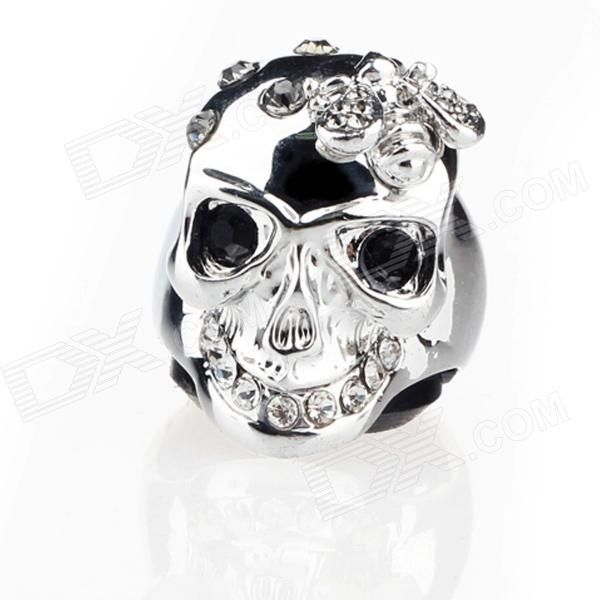 Quantity: 1 Piece; Suitable for: Adults; Color: Silver; Material: CZ diamond + Platinum-plating Alloy; Gender: Unisex; Size: US 9.5, Inner diameter: 19mm(adjustable); Packing List: 1 x Ring; http://j.mp/1uO1PBa