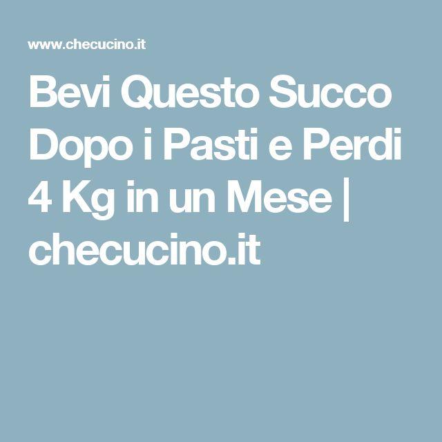 Bevi Questo Succo Dopo i Pasti e Perdi 4 Kg in un Mese   checucino.it