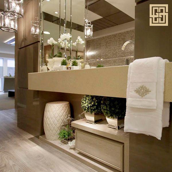 Aprenda hoje como deixar seu lavabo ainda mais sofisticado com pequenos detalhes clássicos!