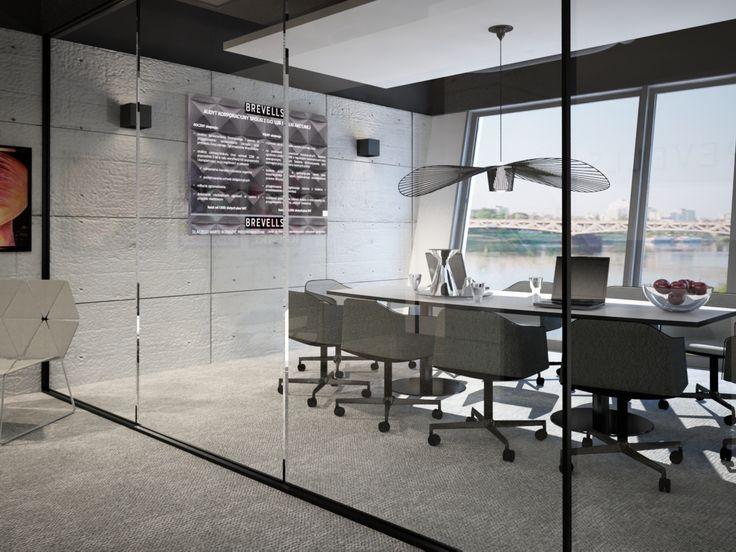 Projekt biura dla Brevells