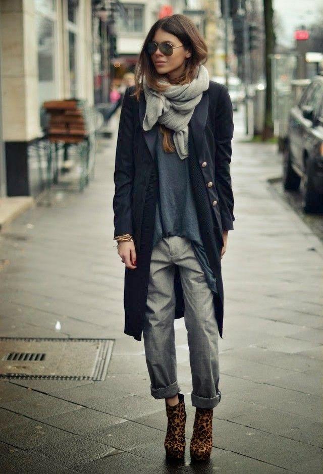 Street Style – Light Weight Coat