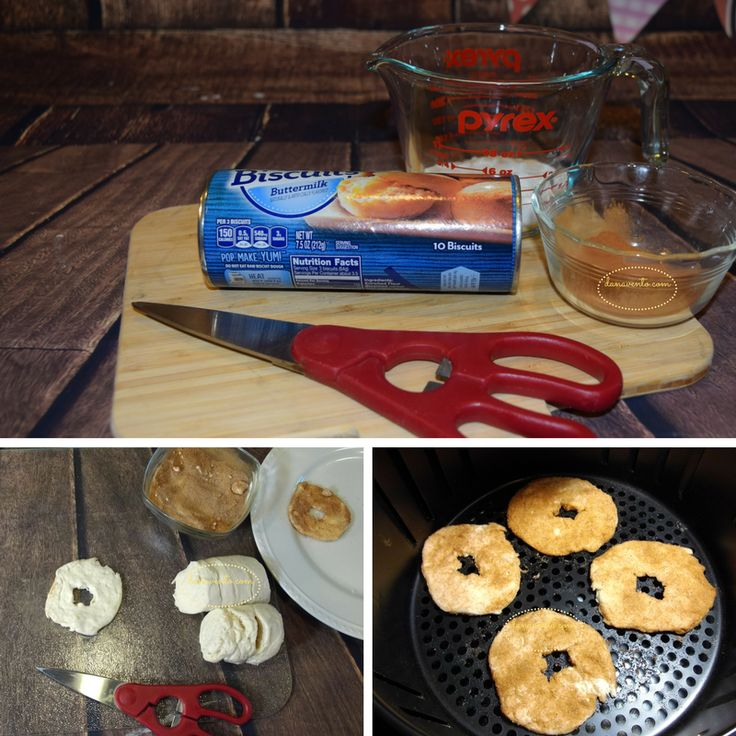 Delicious Cinnamon Sugar Air Fryer Donuts, DONUTS, EASY DONUTS, RECIPE, FAST RECIPE, DIY RECIPE, REFRIGERATED DOUGH, SUGAR, CINNAMON, WEEKENDS, WEEKDAYS, TREATS, DESSERTS , SUNDAYS, PARTIES, CELEBRATIONS, BIG GAME, FOOD, FOODIES, EASY TO MAKE, DONUTS ARE EASY, AIR FRYER, AIR FRIED, AIR FRYER RECIPE, DANA VENTO FOOD WRITER, FOODIES, FOOD RECIPE, HOW TO, STEP BY STEP