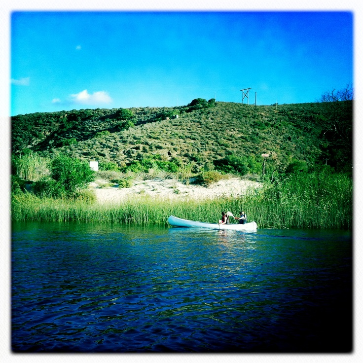 Canoeing on the Breede River