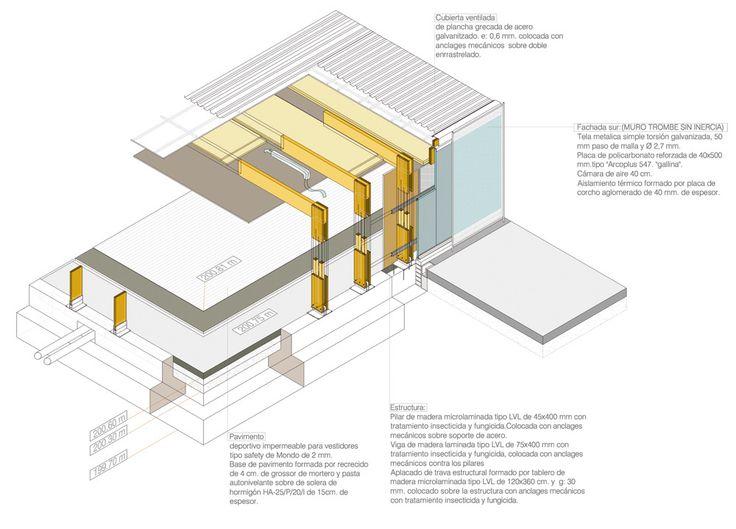 M s de 1000 im genes sobre edificios en pinterest for Gimnasio 704 h arquitectes