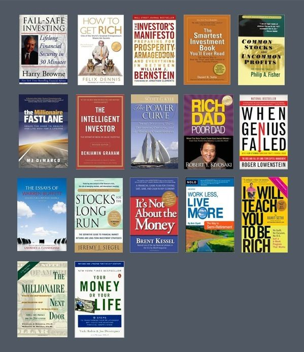Wealth And Finance Books For Men