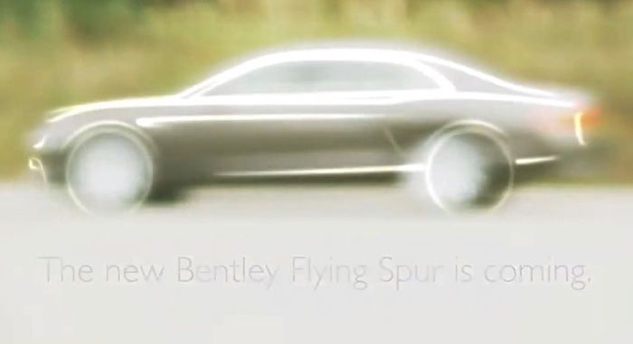 Geneva 2013: Bentley Flying Spur Sketched and Video