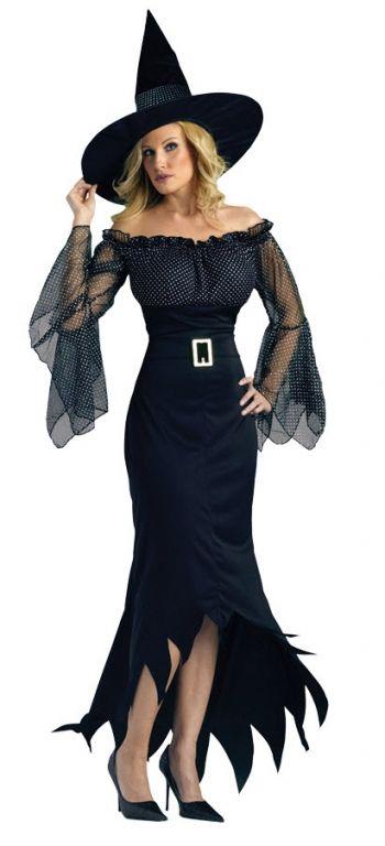 Sorceress Costume. Looks like a 50's housewife witch-kind ...