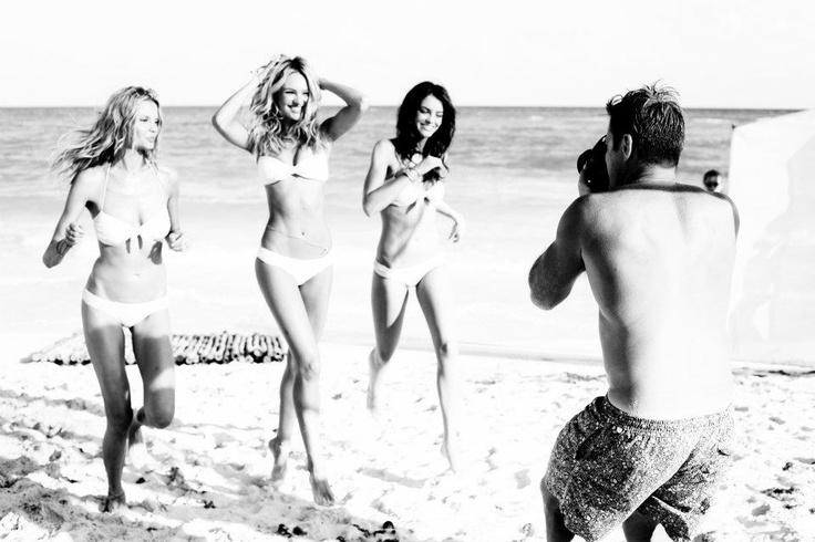 fun in the sun: Pink Summer, Vs Swim, Ben Watts, Magdalena Frackowiak, Beaches Belle