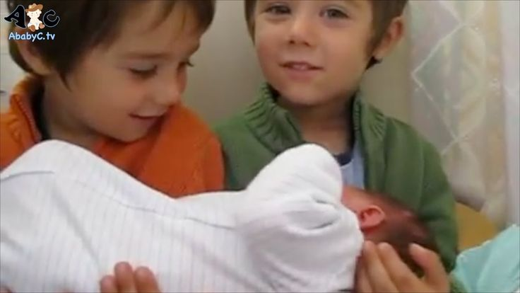 Kids Meet Baby Sister Baby Boy for the first Time Compilation - 5