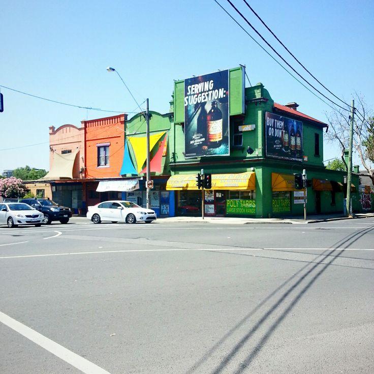 A colourful corner