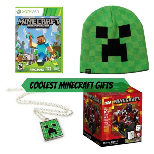 Coolest Minecraft Gifts and other tween boy gifts