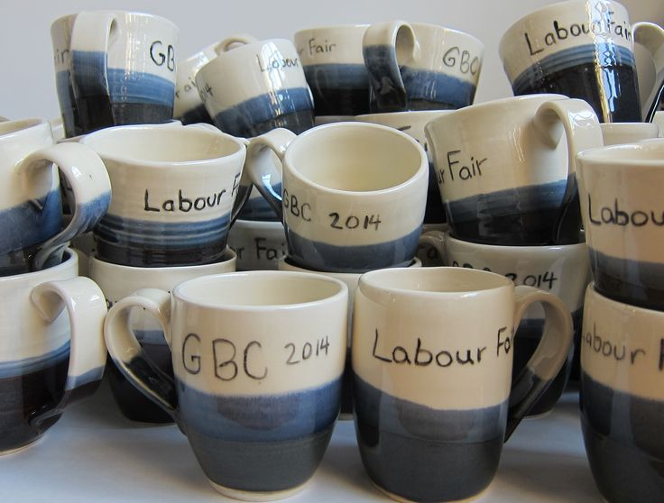 Mugs For The George Brown College Labour Fair 2014