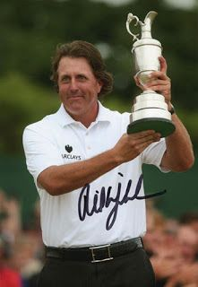 Autograph Blog - News, Tips, and Tricks of In-Person and TTM Autograph Collecting: TTM Address of The Day - Phil Mickelson (Golfer - 3x Masters Winner)