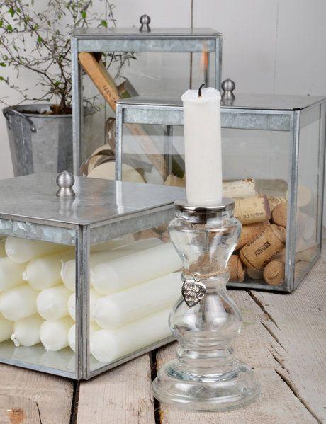 Glasboxen von Ib Laursen
