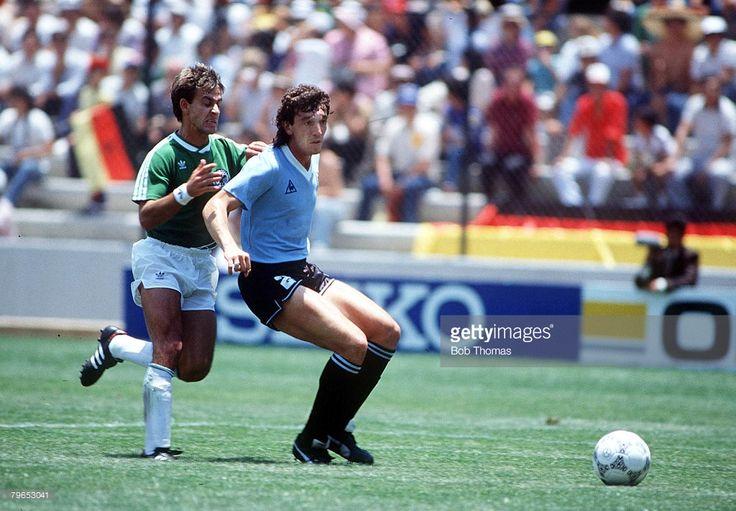 Gr.E: Uruguay - West Germany 1:1