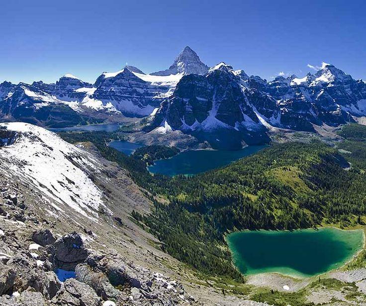 klippiga bergen. kanada