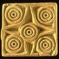 Harappan Seal, ca. 3000-2000 BC, Indus Valley Civilization, present-day Pakistan.