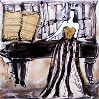 """Maddi """"I Paint Music"""" Ekeblad"""