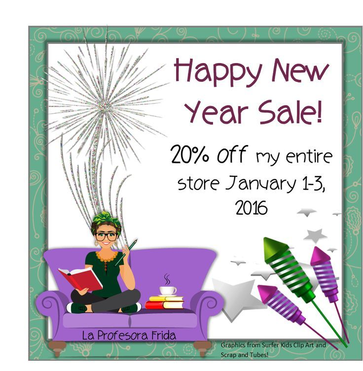 La Profesora Frida is having a Sale in her TeachersPayTeachers store and EVERYTHING is on sale!  Shop in your pajamas and stock up on some new Spanish Lessons!
