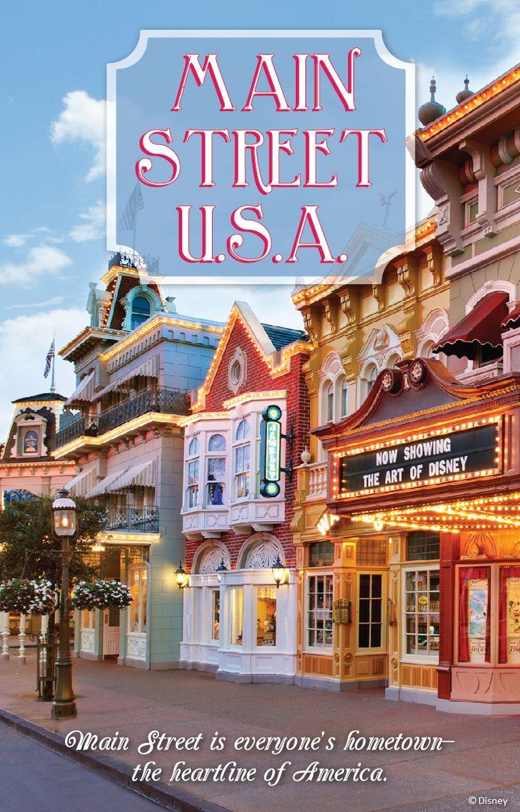 Main Street, USA in the Magic Kingdom, Walt Disney World, Florida