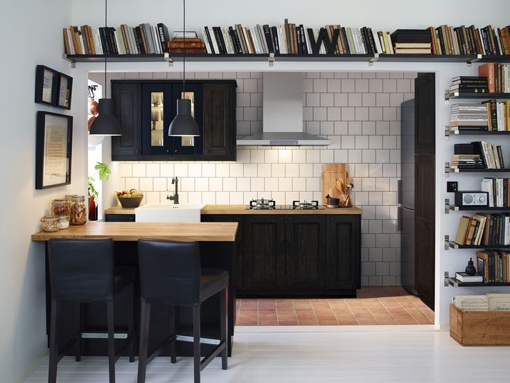 books in the kitchen #ikea