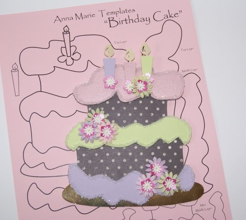 36 best Birthday Cards - Templates images on Pinterest Patterns - birthday cake card template