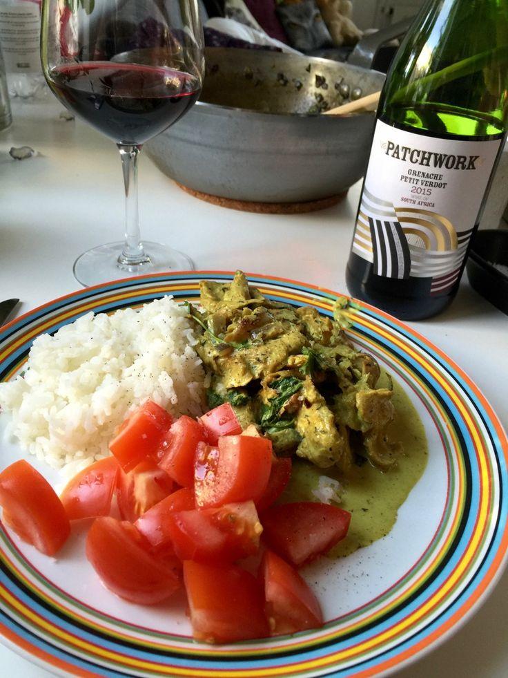 Vegansk h*ns, ris och curry the Jävligt Gott Way | Jävligt gott - en blogg om vegetarisk mat och vegetariska recept för alla, lagad enkelt och jävligt gott.