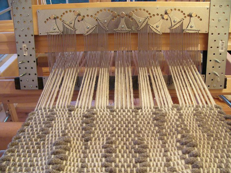 adjustable reed ADRE from 2009: changing warp density while I weave