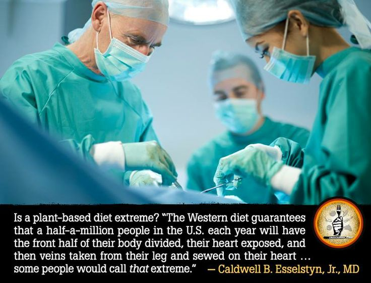 "Dr. Esselstyn shares some insight about what's ""extreme ..."