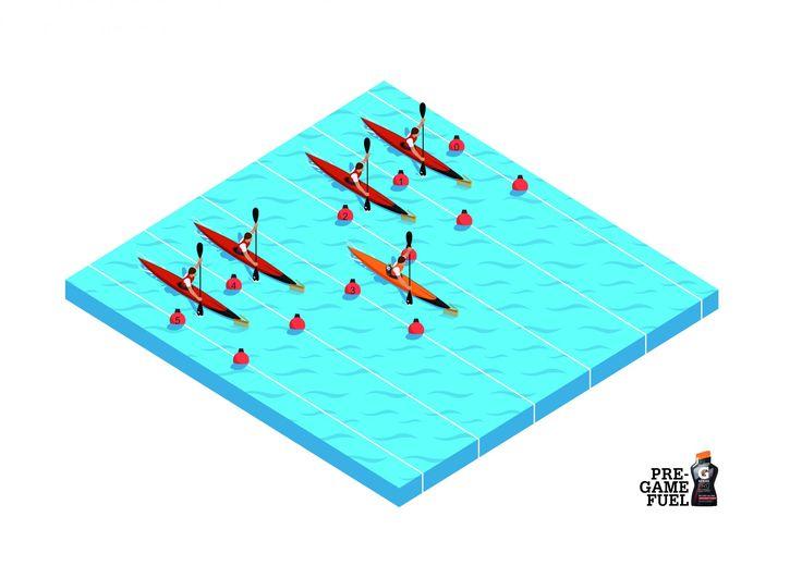 Gatorade: Canoeing | Ads of the World™