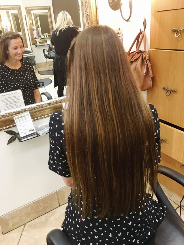 behind-the-scenes photos of donating hair | places to donate + hair requirements | via Finding Beautiful Truth