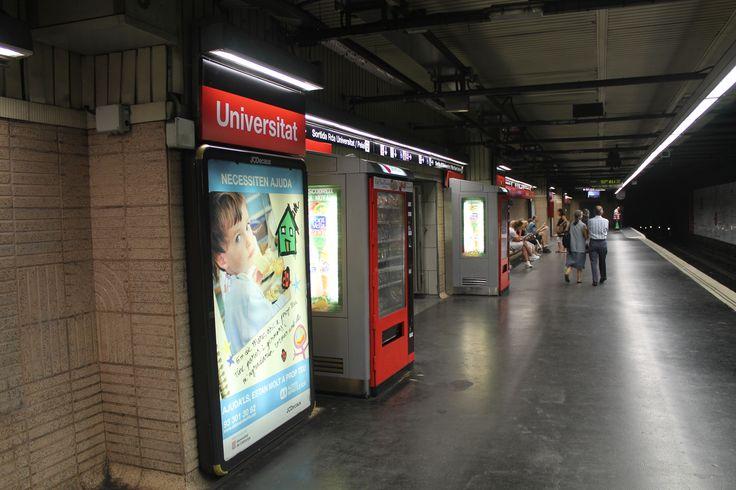 estación del metro Universitat