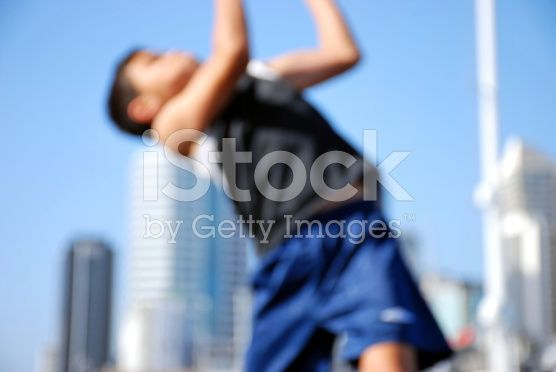 Completely Blurred Motion in Action royalty-free stock photo