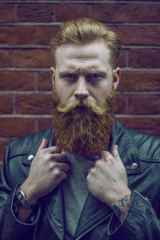 Gwilym pugh boy magia pinterest beard styles and red for Red beard tattoo