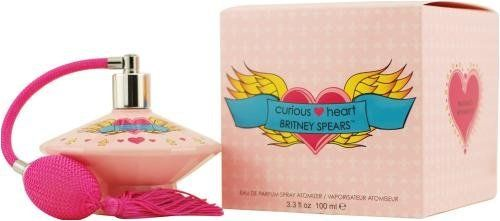 Curious Heart by Britney Spears for Women, Eau De Parfum Spray, 3.3 Ounce by Britney Spears. $27.25. This item is not for sale in Catalina Island. Packaging for this product may vary from that shown in the image above. Curious Heart by Britney Spears 3.3oz 100ml EDP SprayWhenapplyingany fragrance please consider that there are several factors which can affect the natural smell of your skin and, in turn, the way a scent smells on you. For instance, your mood, stress...