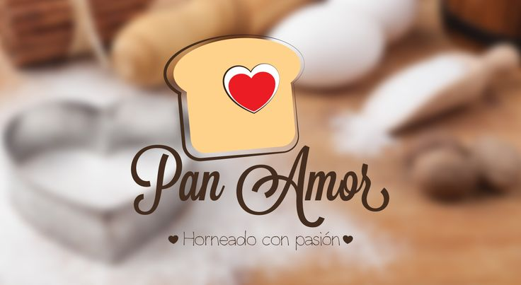 Echa un vistazo a mi proyecto @Behance: \u201cPan Amor - Panadería\u201d https://www.behance.net/gallery/34251737/Pan-Amor-Panaderia