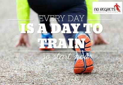 Every day is a day to do something to work on your health. Whether it is going for a walk, doing some weights, or playing a game of tennis with friends. Try to do something every day and make it a habit and reap the rewards.
