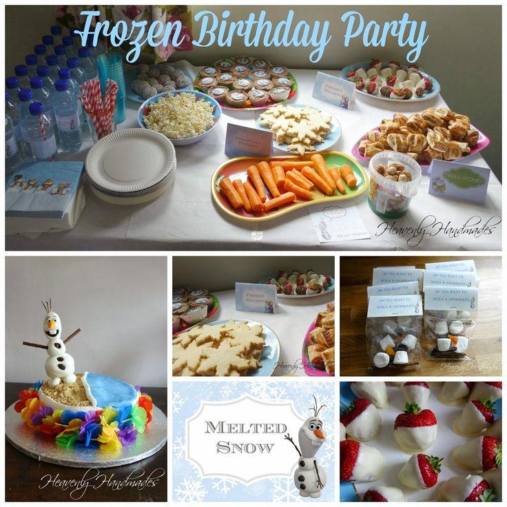 Heavenly Handmades: Frozen Birthday Party
