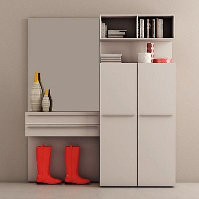Practical, elegant 'Panna' wall unit. Available in different colours, beautiful piece.
