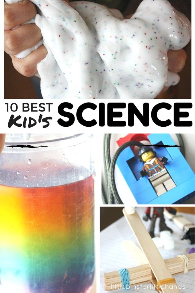 10 Best Kids Science Experiments At Home. Fun and easy science experiments to do at home with kids. Science activities and STEM activities for kids. Preschool, kindergarten and grade school science activities.