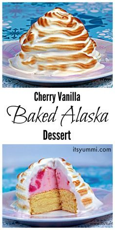 This baked Alaska re